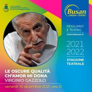 Teatro Busan - Le oscure - Virginio Gazzolo