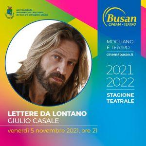 Teatro Busan - Lettere da Lontano - Giulio Casale